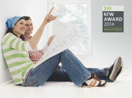 berliner reihenhaus gewinnt kfw award umweltbewusst bauen. Black Bedroom Furniture Sets. Home Design Ideas