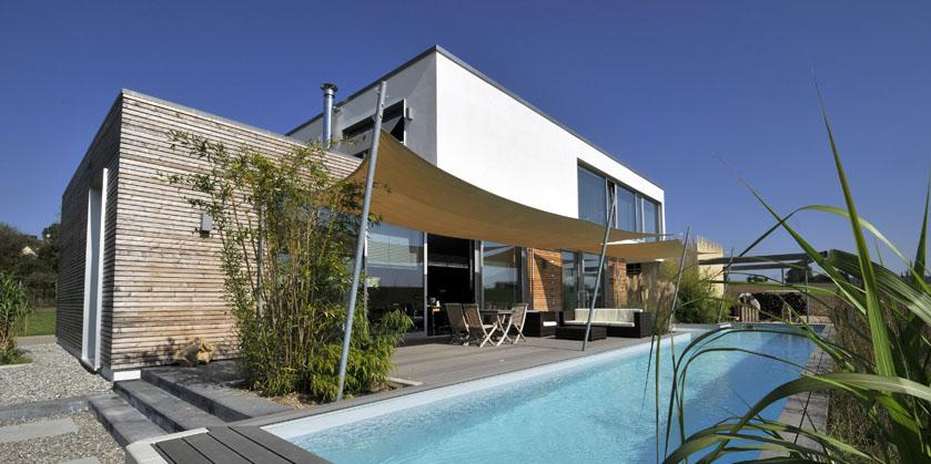 Passiv-Wohnhaus in Augsburg