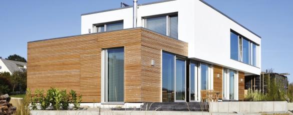Erstes EnergiePlus Haus in Offenhausen Foto: Fachvereinigung Extruderschaum e.V.