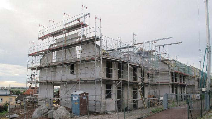 Der Bau eines Hauses ist für die Meisten eine der größten Investition ihres Lebens  Foto © K.Wernicke