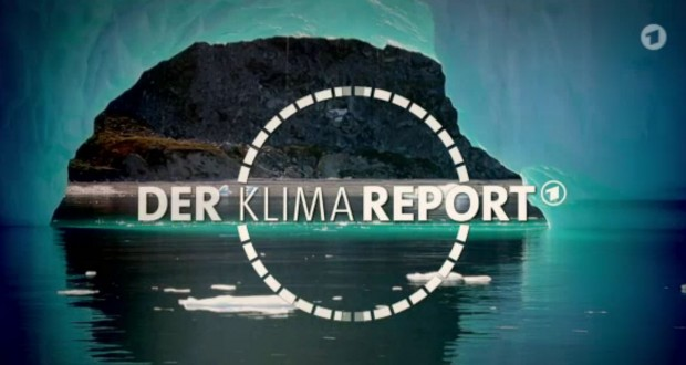 Screenshot ARD-Klimareport