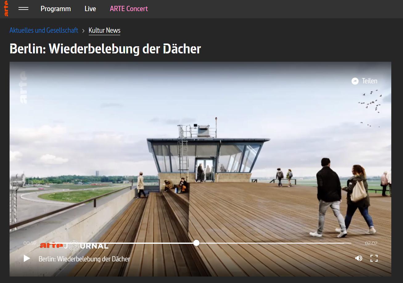 Berlin Wiederbelebung der Dächer