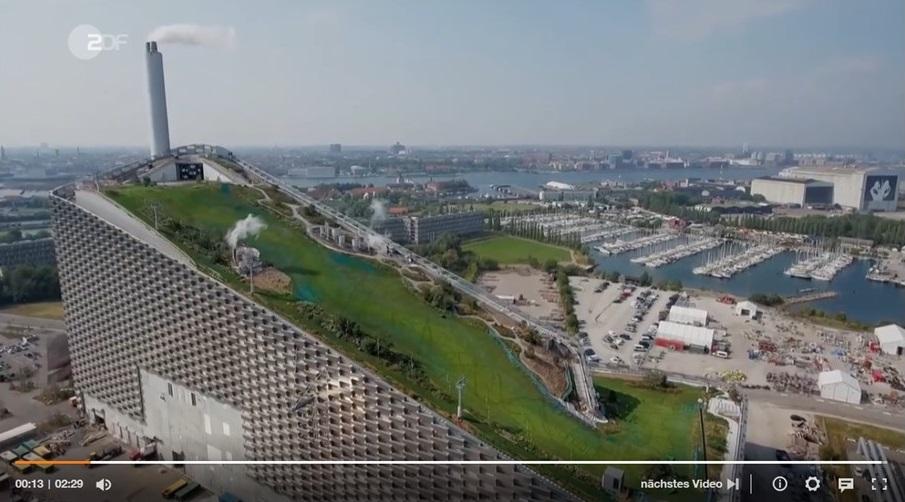 Kopenhagen: Abfahrt über Abfall